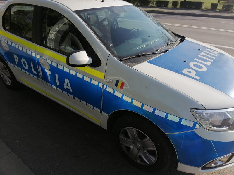 Poliţia rutieră face ordine într-un trafic din ce în ce mai dezordonat