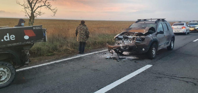 Accident între Topolog şi Saraiu