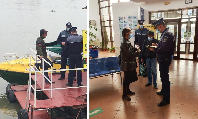 Acţiune a poliţiştilor de la transporturi pe linie de siguranţă a călătorilor
