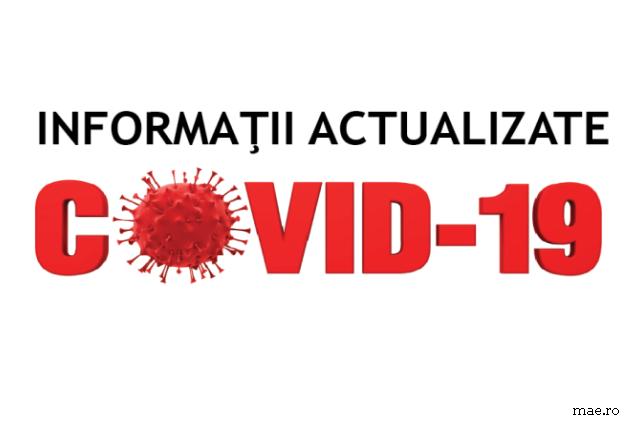 În 24 de ore avem 38 de noi cazuri de infectare cu noul coronavirus