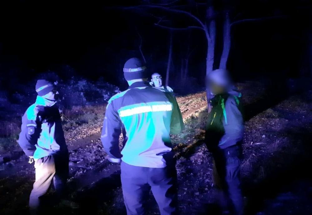 Tulcean salvat de jandarmii montani în munţii Coziei