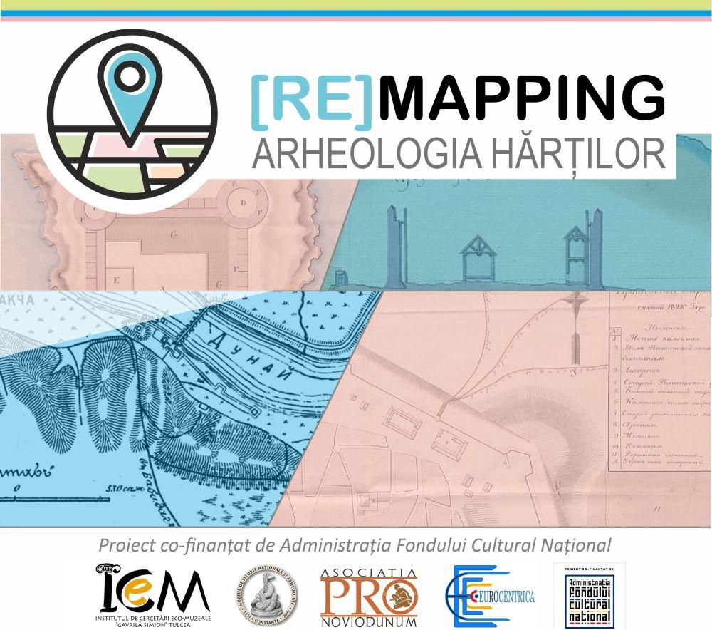 """""""(Re)Mapping – Arheologia hărților"""" la ICEM Tulcea"""