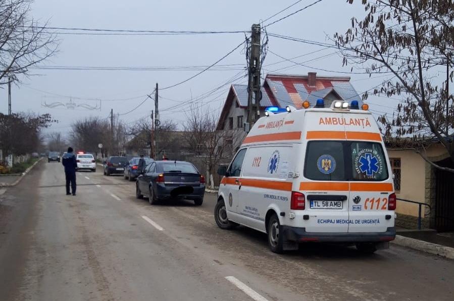 Accident la Sarichioi. O femeie a ajuns la spital