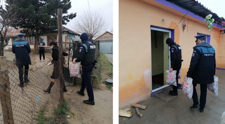 Polițiștii tulceni, ajutoare pentru Moș Crăciun