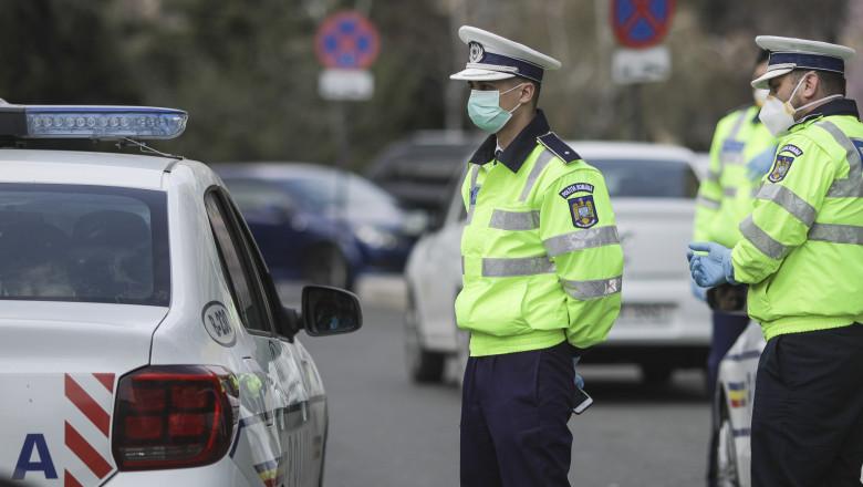Acţiuni ale poliţiei pe linie Covid, în tot judeţul