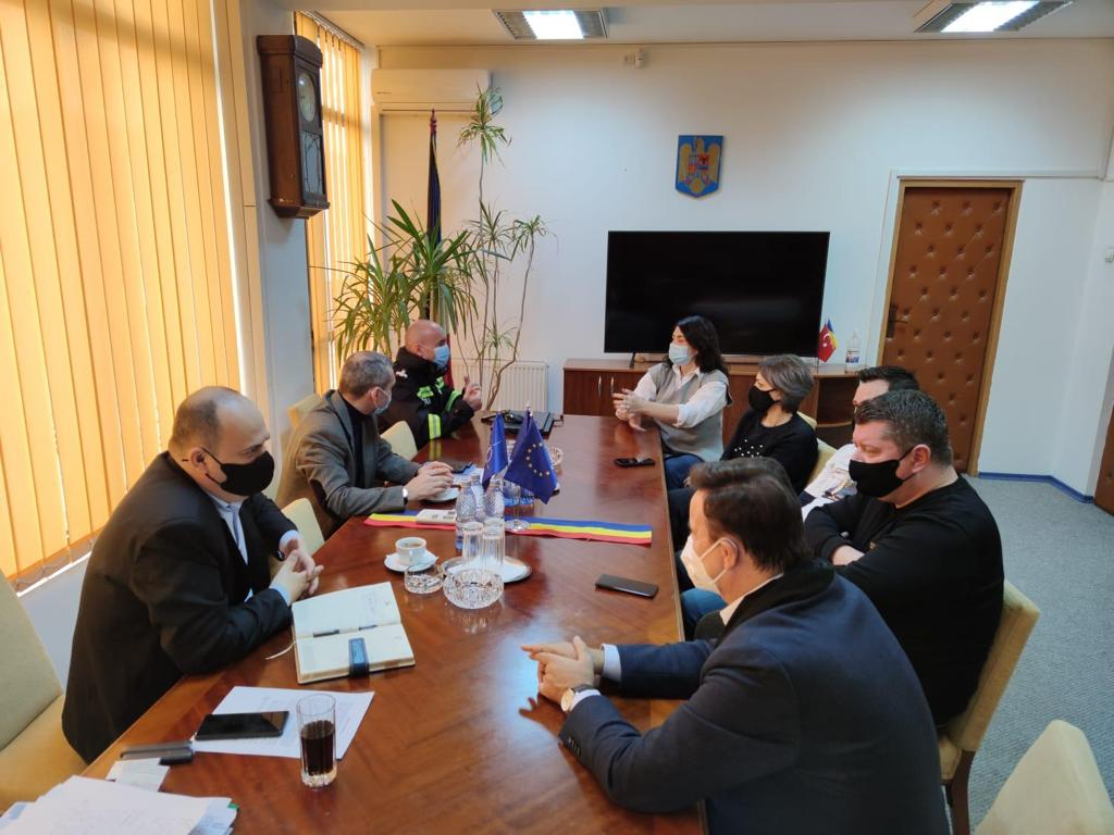 Asociația de Management al Destinației Turistice Delta Dunării s-a întâlnit cu prefectul Iordan, pe problema HORECA
