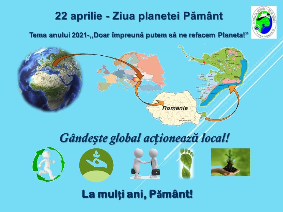 22 aprilie -Ziua Mondială a Pământului