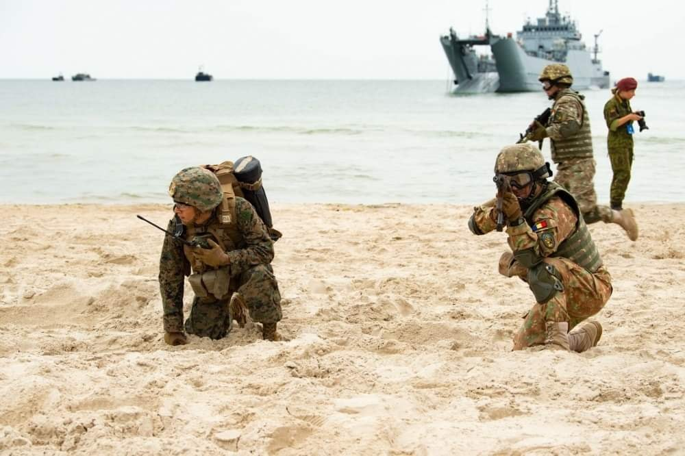 81 de ani de infanterie marină