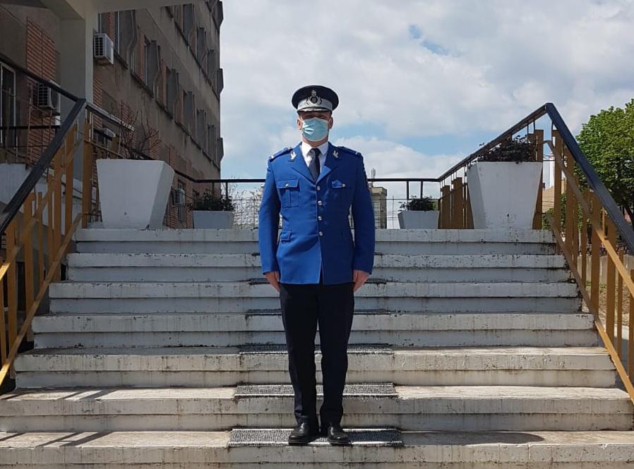 Un nou ofițer s-a alăturat colectivului Inspectoratului de Jandarmi Judeţean Tulcea