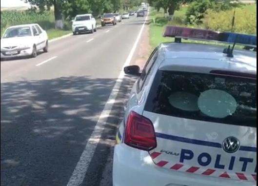 Aglomerație pe drumurile din județul Tulcea. Poliția rutieră recomandă