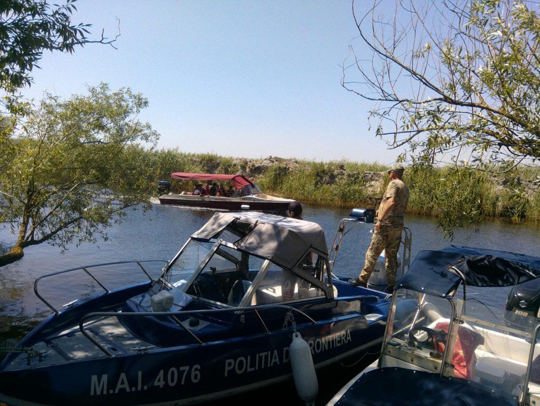 Amenzi pentru vitezomanii din Delta Dunării