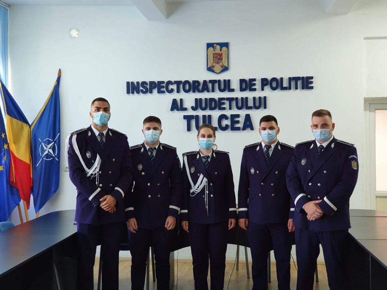 Noi ofițeri de poliție la IPJ Tulcea